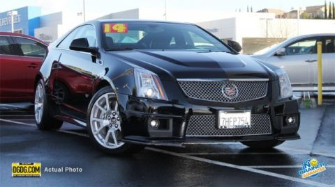 Certified Used Cadillac CTS-V Coupe Base