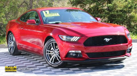 2017 Ford Mustang EcoBoost RWD 2dr Car