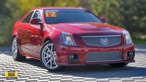 Pre-Owned 2012 Cadillac CTS-V Sedan Base