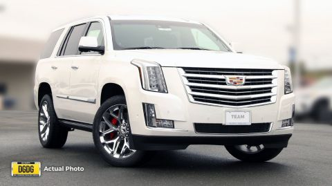 New 2018 Cadillac Escalade Platinum