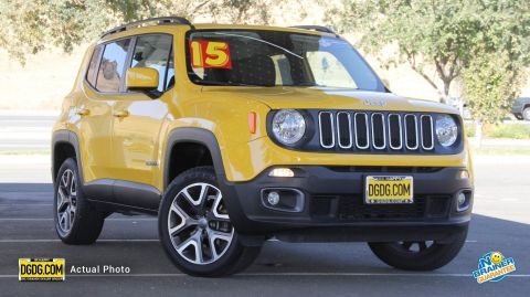 2015 Jeep Renegade Latitude 4WD